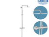 GROHE Duschsystem mit Thermostat