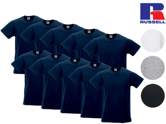 10er-Pack Russell T-Shirts