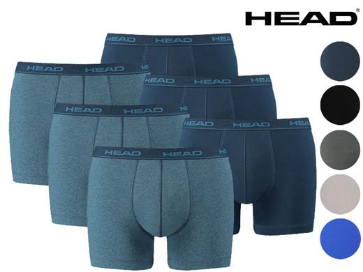 6x HEAD Basic Boxershorts