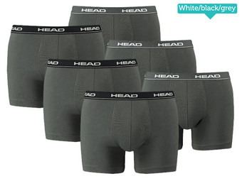 6x HEAD Basic Boxers Brief