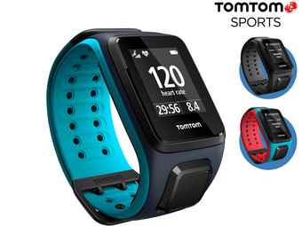 tomtom runner 2 cardio music gps sportuhr mit breitem. Black Bedroom Furniture Sets. Home Design Ideas
