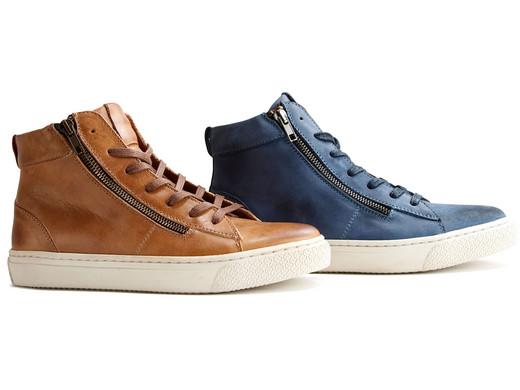 dames sneakers half hoog