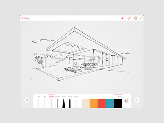 Adobe Ink & Slide Designstylus voor de iPad