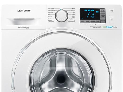 samsung eco bubble 8 kg review over huishoudelijke apparaten. Black Bedroom Furniture Sets. Home Design Ideas
