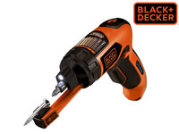 Black + Decker 3.6V Li-Ion Accuschroevendraaier |