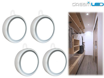 4x DreamLED Draadloze Sensor LED Lamp | USB