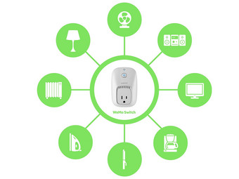2x Belkin WeMo Switch