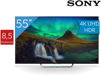 "Sony 55"" 4K UHD LED TV 