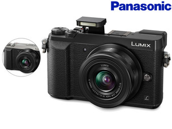 Panasonic GX80 DSLM-Kamera + 12-32 mm