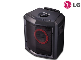 LG LOUDR 50 W Portable Speakersysteem
