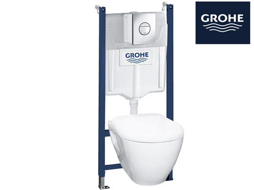 grohe serel 4 in 1 wc set internet 39 s best online offer. Black Bedroom Furniture Sets. Home Design Ideas