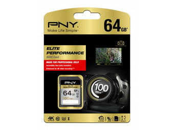 PNY Elite Perform. SDHC-Karten | 64 GB