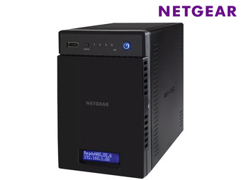 Netgear ReadyNAS 314 | 4-Bay-NAS, 2 GB RAM