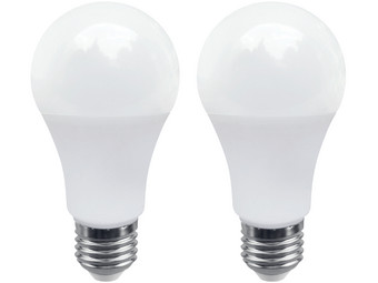 2x LED-Lamp | 9.5 W | Dimbaar