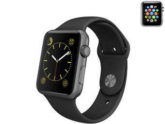 Apple Watch Sport 42 mm mit Sportarmband (refurbished von Apple)