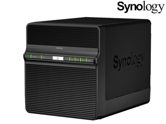 Synology DS414j NAS Server | No HDD's