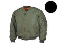 Bomberjack Jet Pilot's Green or Black