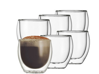 6x Schott Zwiesel Double Wall Glass | 220 ml