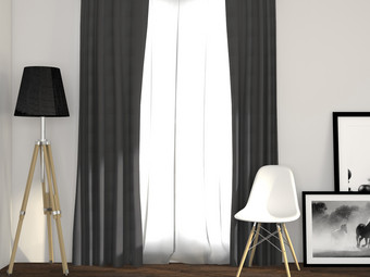 Larson Blackout Gordijn (150 x 250)