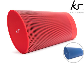 Kitsound Boombar Bluetooth Speaker | Extra Bass