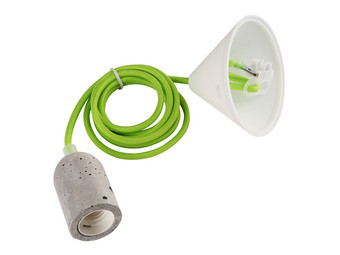 LED's Light E27 Betonfitting (Groen)