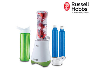Russell Hobbs Smoothie Maker + 2 Flaschen