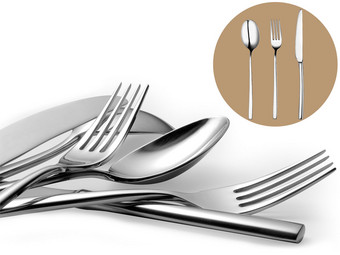 18-piece cutlery set