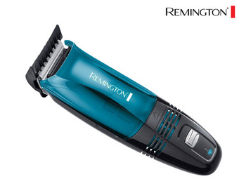 Remington clipper with built-in vacuum