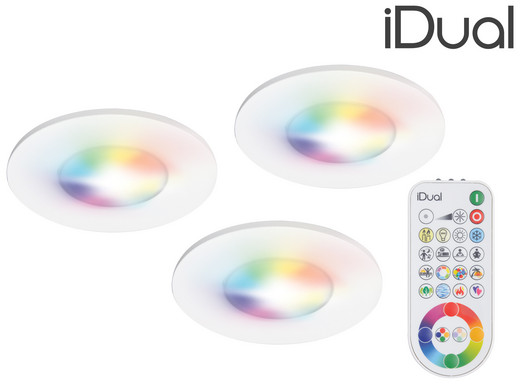 Fabulous iBOOD.com - Internet's Best Online Offer Daily! » 3x iDual RGB 6 DC01