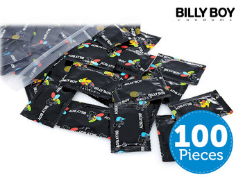 100x Billy Boy Condooms | Mixpack | 09-2021