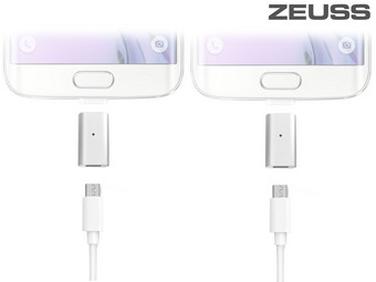2x Zeuss Easy Connect Micro-USB
