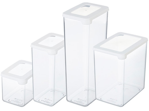vorratsbehalter 4er set smartstore tupperware swing box