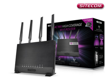 Sitecom WLR-9000 AC1900 High Coverage Router