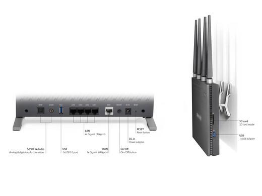 Plafonniere Wifi : Sitecom greyhound ac wifi router internet s best online