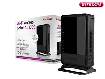 Sitecom WLX-7000 AC1200 Wifi Access Point | 1,2 Gbps