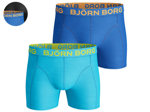 2x Björn Borg Boxer | Seasonal Solids Blue