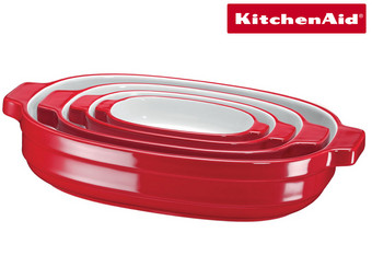 4x KitchenAid Ceramic Oven Dish