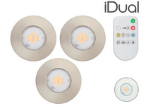3x iDual IP65 Inbouwspot | LED