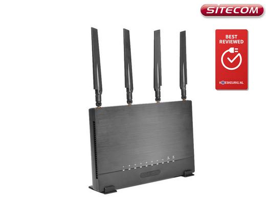 Plafonniere Wifi : Sitecom wlr high coverage mu mimo wifi router internet s