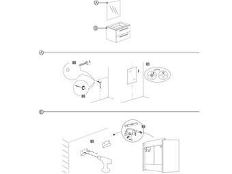 differnz julius badkamermeubel met spiegel en wasbak