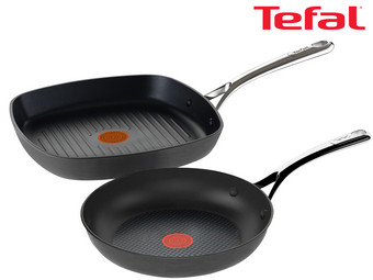 Tefal Reserve Collection Pfannenset | Grill- und Bratpfanne