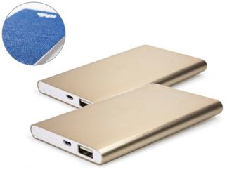 2x Mr Handsfree Powerbank 4.400 mAh