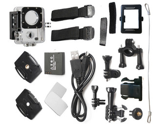 HD Action Cam Incl. Dashcam-modus