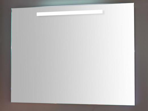 Biselarte Badkamerspiegel met Verwarming & Verlichting | 100 cm ...