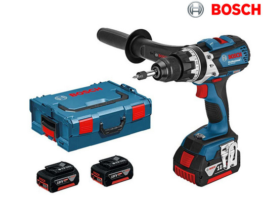 Top Bosch Professional Kombi-Bohrmaschine | 18 V | 3 x 5 Ah Li-on  JC22