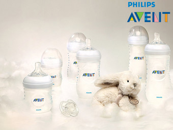 6x Philips AVENT Natural-Babyfles