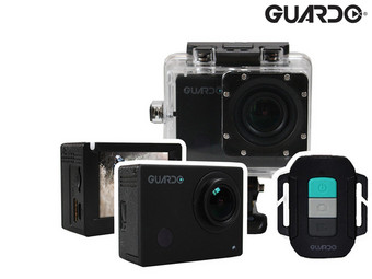 Guardo Action Cam 4 | Ultra HD 4K | WLAN | mit Display