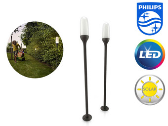 2x Philips LED Lantern | Solar