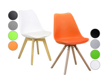 2 Woody or Brandy Chairs | 5 Different Colors