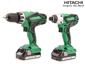 Hitachi 18 V Powertools + Accu's